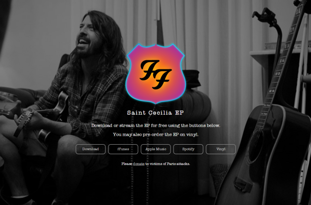 Foo Fighters_Saint Cecilia_Web